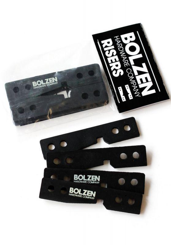 "BOLZEN HARDWARE Drop Through Riserpads 1/8"" Set"