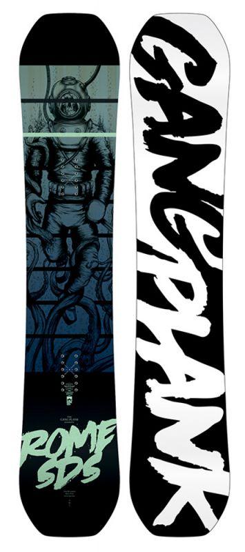ROME Gang Plank 155 Snowboard 2019
