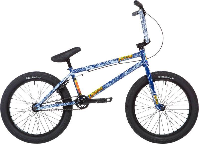 """STOLEN x FICTION Creature 20"""" 2020 Freestyle BMX Fahrrad - Angry Seas Blue"""