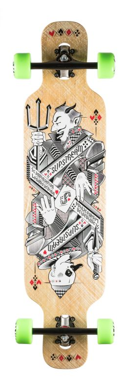 SLIPSTREAM Platypus 2015 Card Longboard Komplett