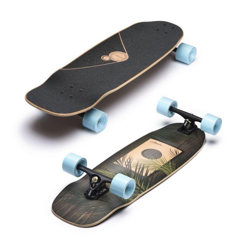 LOADED Omakase Palm Grip n Rip - Longboard Komplett