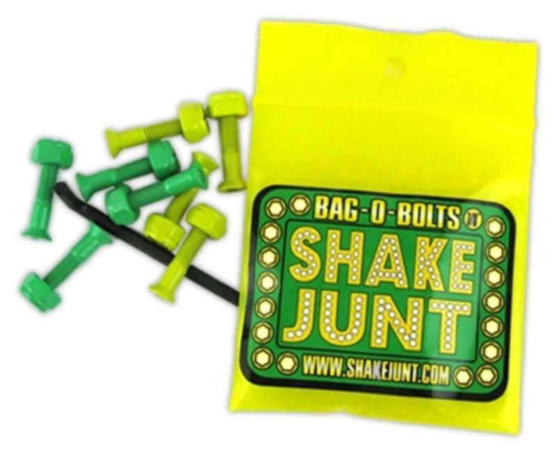 "SHAKE JUNT Montagesatz 1"" Innensechskant Green/Yellow"