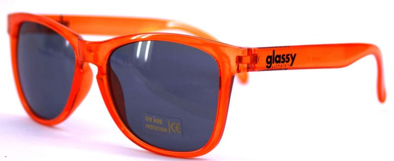 GLASSY SUNHATERS - Deric Clear Orange