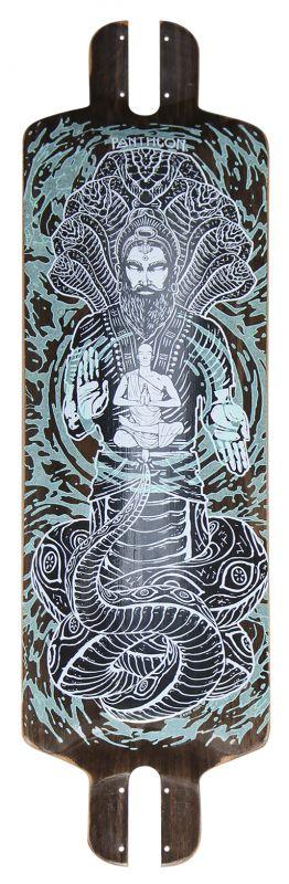 "PANTHEON Pranayama 31.375"" - Longboard Deck"