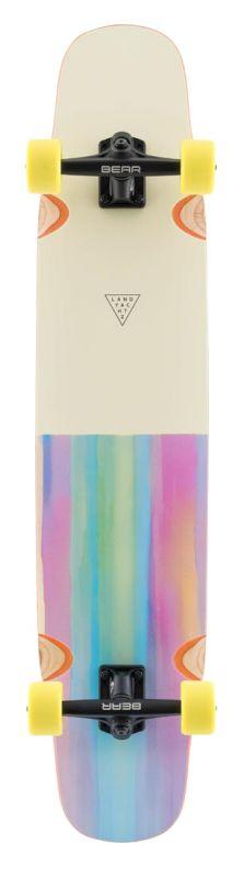 """LANDYACHTZ Tony Danza Watercolor 40"""" - Longboard Komplett"""