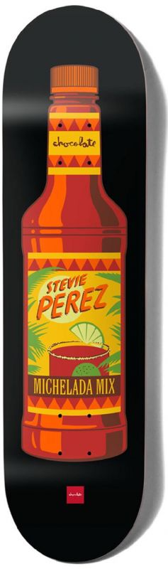 "CHOCOLATE Perez Hecox Essentials 8.375"" - Skateboard Deck"
