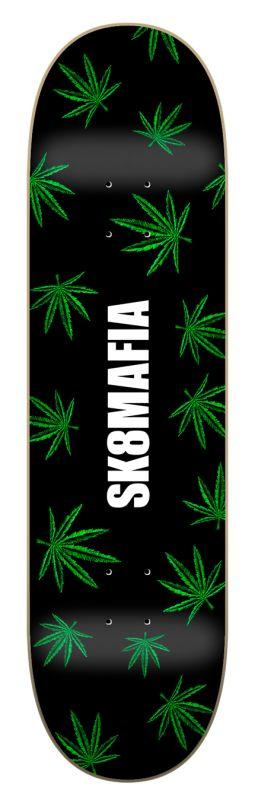 "SK8MAFIA OG Logo Blow 8.25""x32"" - Skateboard Deck"