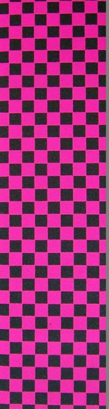 "BLACK DIAMOND Griptape 9""x33"" - Checker Pink"
