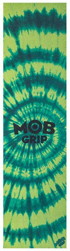"""MOB Trippy Tie Dye - Green/Yellow - Griptape 9""""x33"""""""