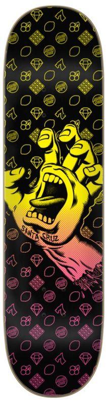 "SANTA CRUZ Jackpot Hand Team 8"" - Skateboard Deck"