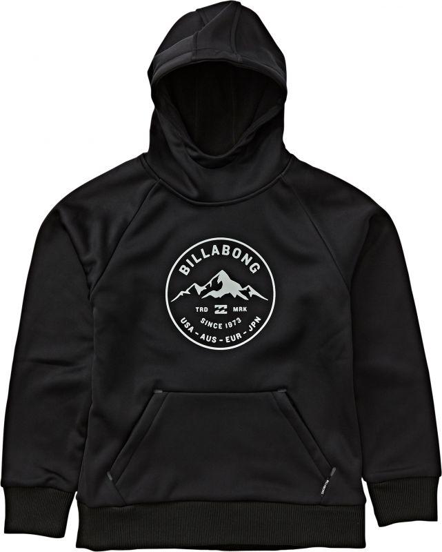 BILLABONG Downhill Hood - Black - M - Snowboard Kapuzenpullover