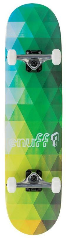 ENUFF Geometric Green - Skateboard Komplett