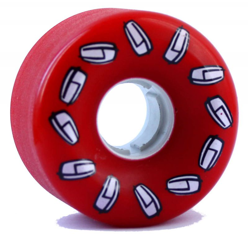 Olson&Hekmati Cruiser Freeride - 60mm 79a Red