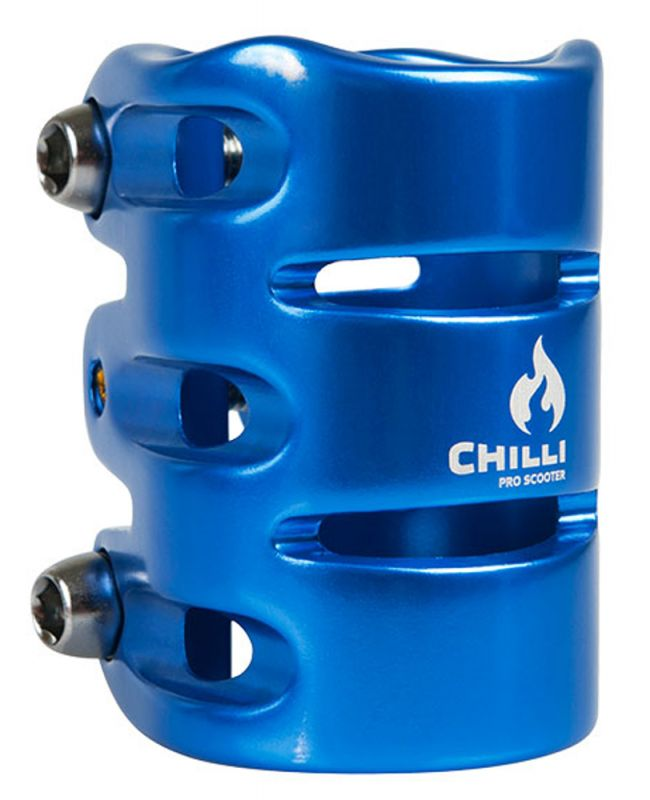 CHILLI PRO SCOOTER Clamp HIC - Blue