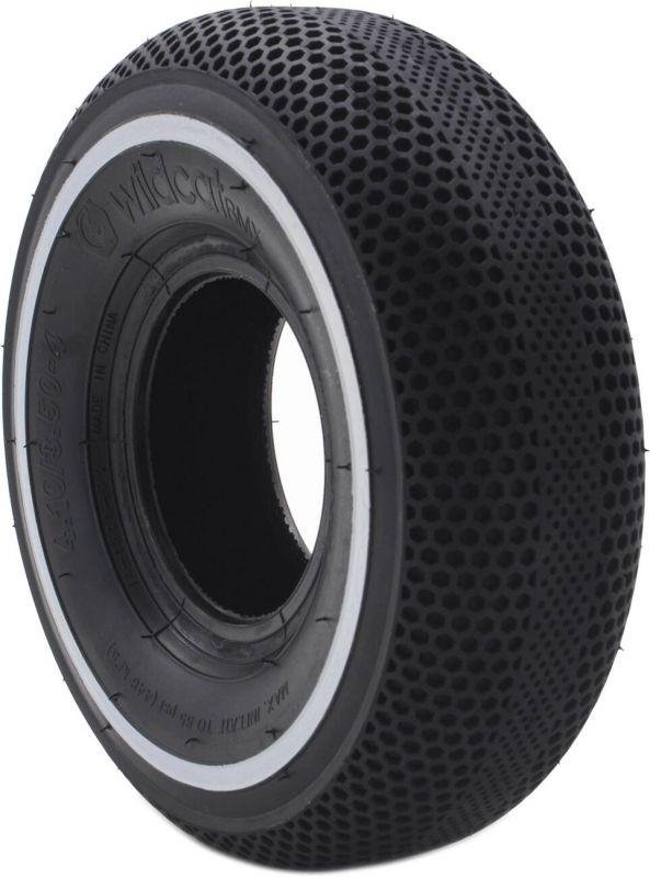 WILDCAT P04 65 PSI Mini BMX Reifen (Black White Line) inkl. Schlauch