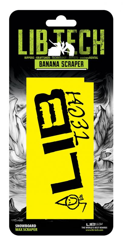 LIB TECH Wax Scraper