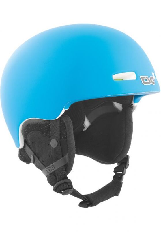 TSG Fly Solid Color Satin Dark Cyan White L/XL Snowboardhelm