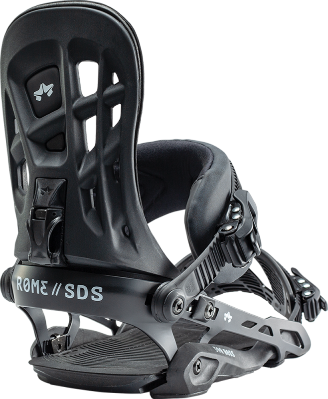 ROME 390 Boss Black S/M - Snowboard-Bindung 2020