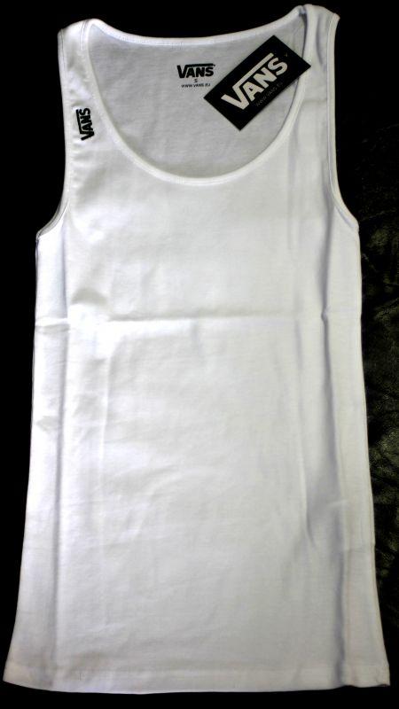 VANS Tank Top White - Größe S