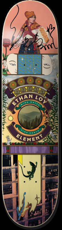 """ELEMENT Ethan Paradise 8.25"""" - Skateboard Deck"""