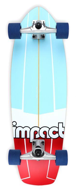"""IMPACT Stringer Smooth Carve 31.75"""" - Surfskate Komplett"""