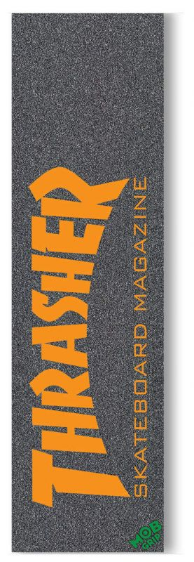 "MOB Thrasher Skate Mag Orange - Griptape 9""x33"""