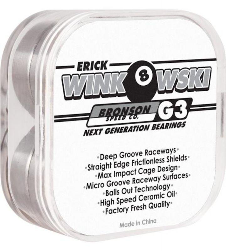 BRONSON SPEED CO. Erick Winkowski Pro Bearings G3 - Kugellager