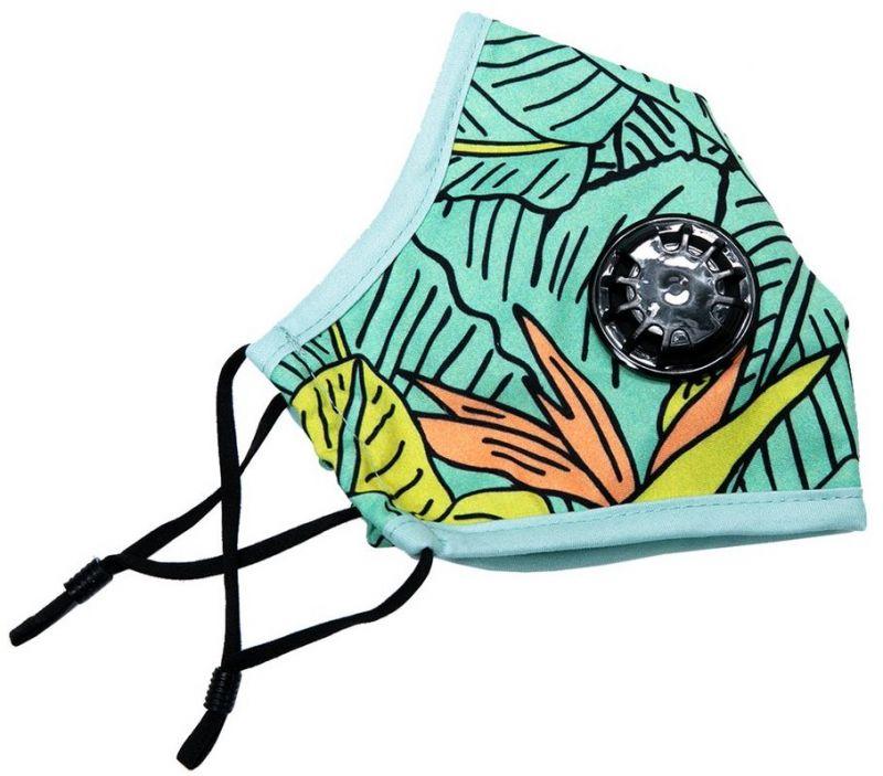 RIPNDIP Nermal Leaf Ventilated Mask Green -  Mundschutz