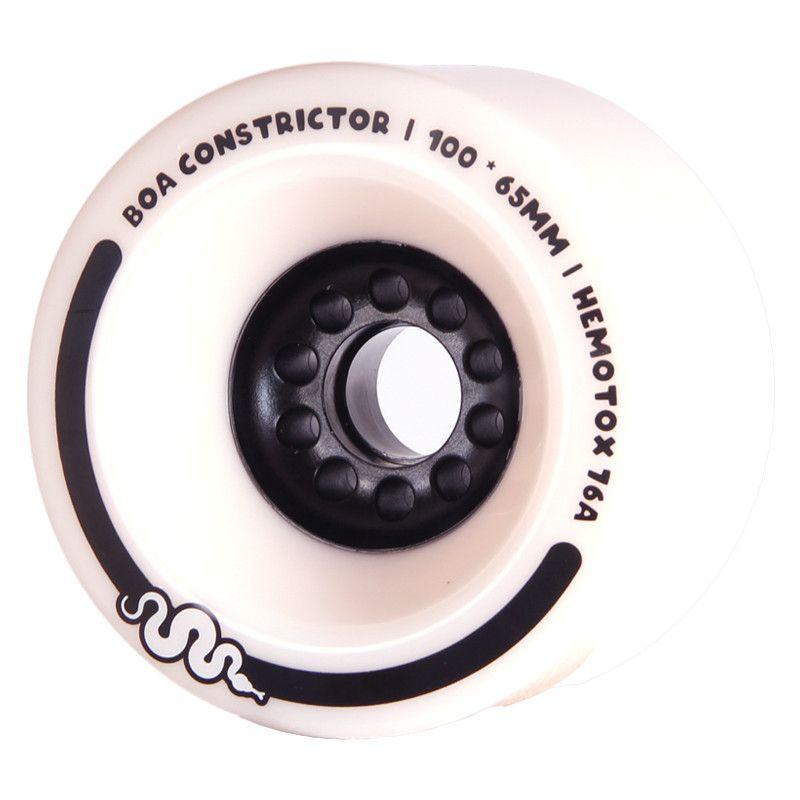 BOA Constrictor 100mm 83a White (2 Stück) - Longboard/Elektroboard Rollen