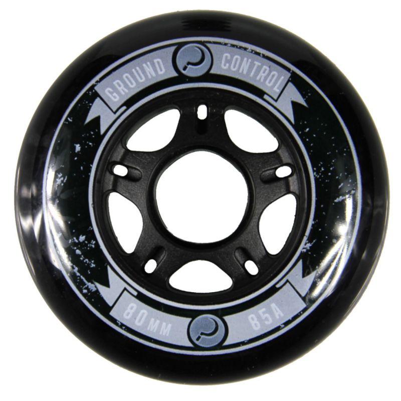 GC Wheels 80mm 85A Black - Inliner Rollen