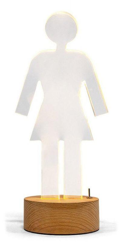 GIRL Acrylic OG Lamp - Acryllampe