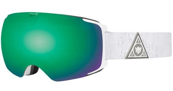 TSG Goggle Two Woody Green-Chrome - Snowboardbrille