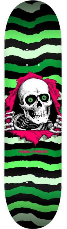 "POWELL PERALTA Ripper Popsicle 8.75"" Green/Lightgreen - Skateboard Deck"