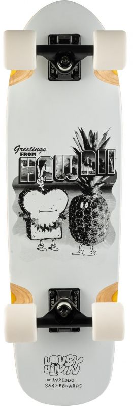 """INPEDDO X Lousy Livin Toast Hawaii 28.5"""" - Minicruiser Komplett"""