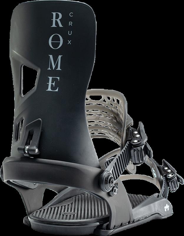 ROME Crux Black L/XL - Snowboard-Bindung 2020