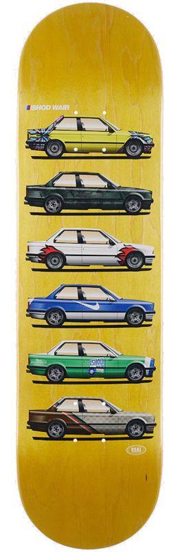 """REAL Wair Customs TT 8.25"""" BMW E30 - Skateboard Deck"""