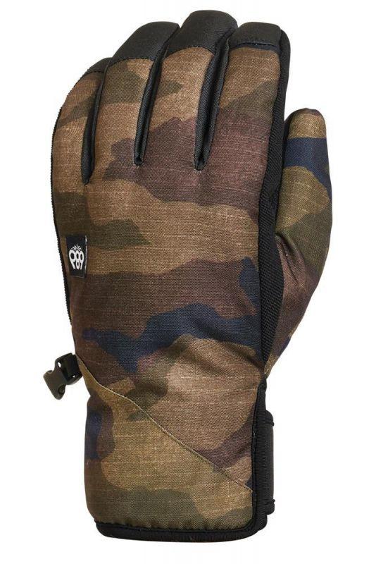 686 Men's Ruckus Pipe Glove Dark Camo - Gr. M - Snowboardhandschuhe