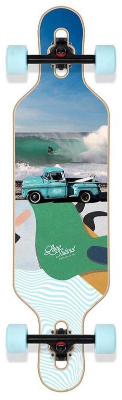 """LONG ISLAND Van Drop 36.95"""" - Longboard Komplett"""