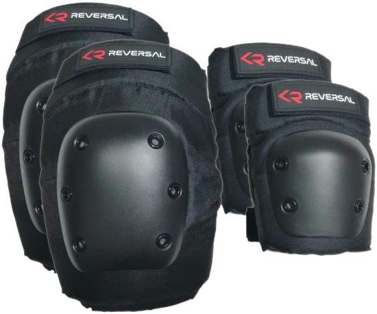 REVERSAL 2-Pack Pads Black- Schoner Set - Größe M