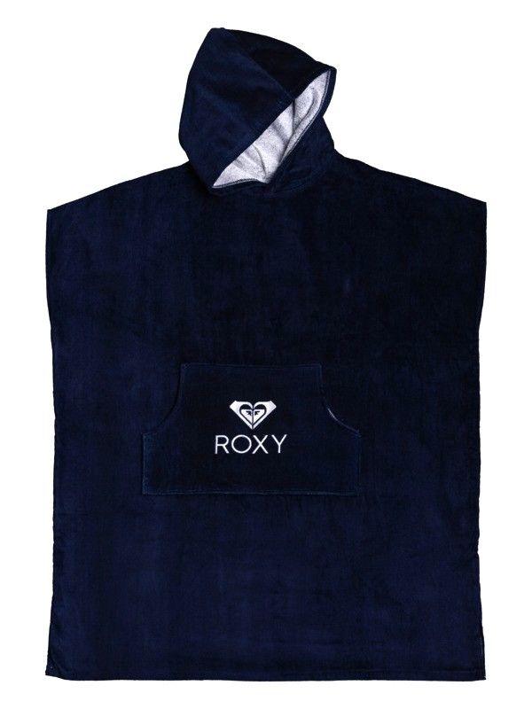 ROXY Stay Magical Solid Mood Indigo - Surf Poncho