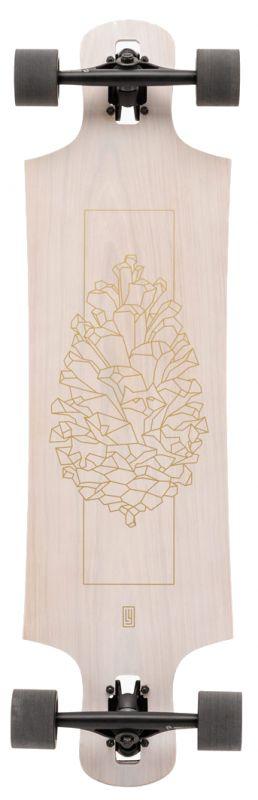LANDYACHTZ Drop Hammer White Oak - Longboard Komplett