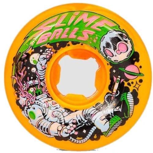 SANTA CRUZ Astros Speed Valls 99A Orange/Yellow - Skateboard Rollen