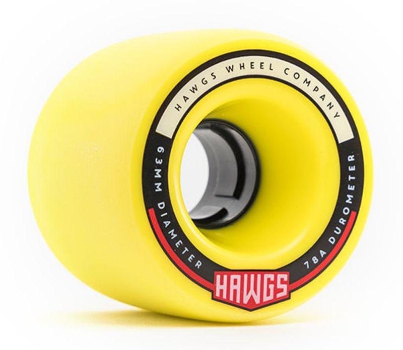 HAWGS Fatty Hawgs 78a 63mm Yellow