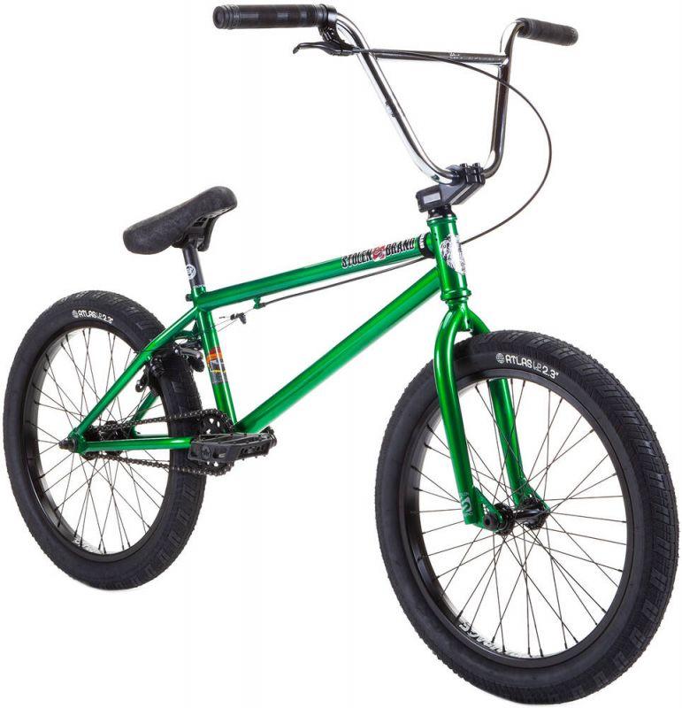 "STOLEN Heist 20"" 2021 Chrome - Freestyle BMX Bike"