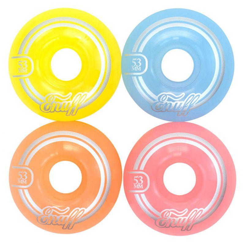 ENUFF Refresher II Wheels Pastelmix - Skateboardrollen