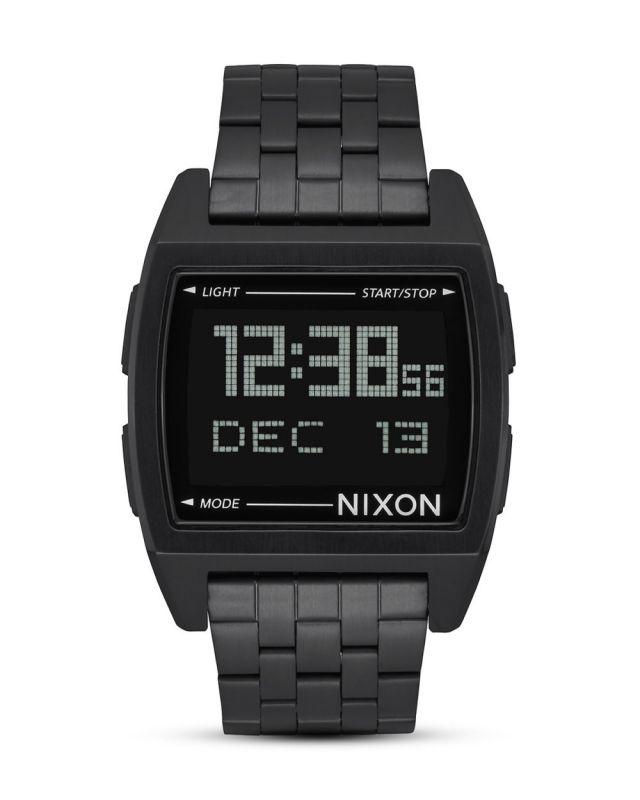 NIXON Base All Black - Armbanduhr