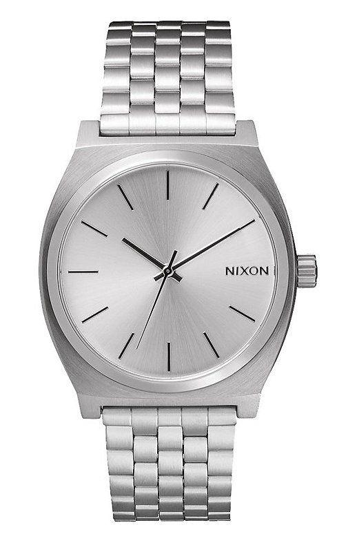 NIXON Time Teller All Silver - Armbanduhr