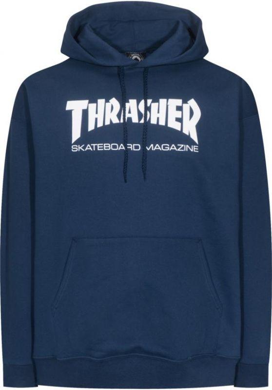 THRASHER Skate Mag Hooded Sweatshirt Navy