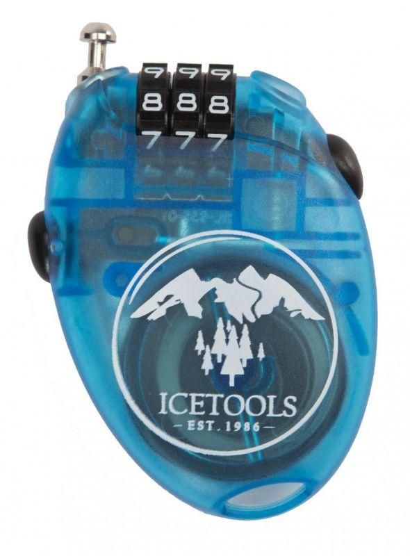 ICETOOLS Mrs. Lock Clear Blue Snowboardschloss