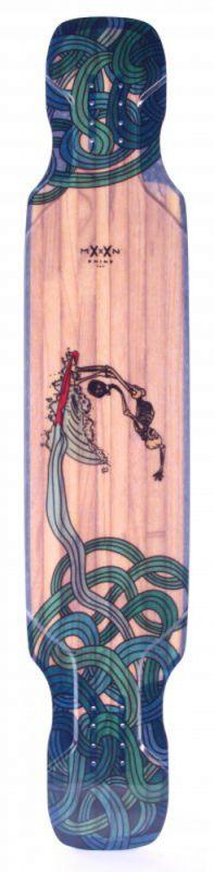 "MOONSHINE Corsi Hoedown Medium 48"" - Longboard Deck"